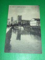 Cartolina Un Saluto Da Castelfranco Veneto - Particolare 1910 Ca - Treviso