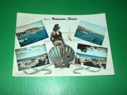 Cartolina Saluti Da Miramare Di Rimini - Vedute Diverse 1957 - Rimini