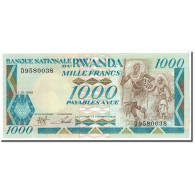 Rwanda, 1000 Francs, 1988, 1988-01-01, KM:21a, NEUF - Rwanda