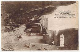 LA ROQUE GAGEAC En Sarladais : Ruines Du Fort Place Forte Imprenable - France