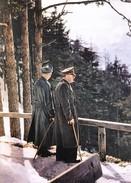 Militaria WW2  - Hitler Et Himmler  Au Berghof - 1939-45