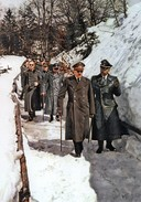 Militaria WW2  - Hitler Et Himmler En Promenade Au Berghof 2 - 1939-45