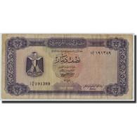 Libya, 1/2 Dinar, Undated (1972), KM:34b, TB - Libye