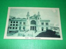 Cartolina Bari - Teatro Margherita 1924 - Bari