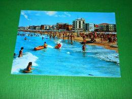 Cartolina Igea Marina - Mareggiata 1973 - Rimini