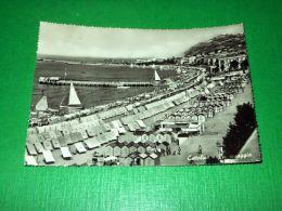 Cartolina Cattolica - Spiaggia 1957 - Rimini