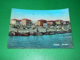 Cartolina Viserba - Spiaggia 1957 ** - Rimini