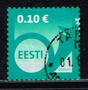 Estland 2015, Michel# 840 O Posthorn - Estonia