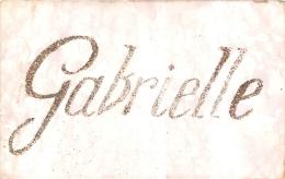 PRENOM   GABRIELLE AVEC PAILLETTES COLLEES - Prénoms
