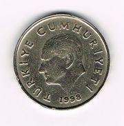 ) TURKIJE  50 BIN  LIRA   1998 - Turquie
