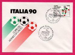 FDC - Football - Italia 90 - Coppa Del Mondo Di Calcio Italia - Roma Filatelico - 1988 - 1990 – Italië