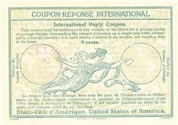 DT 399 -- USA Etats Unis Coupon Réponse International ( IRC) 9 Cents - NEW YORK 1933 - Entiers Postaux