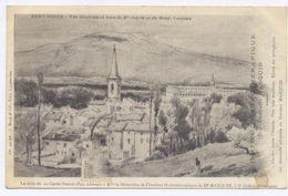 SAINT DIDIER Près De Pernes,Carpentras, Vue Générale De Ste Garde Et Du Mt Ventoux - Dessin - - France