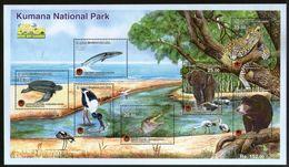 Sri Lanka 2016 Kumana National Park Elephant Bear Turtle Leopard Bird Fish Wildlife Animals M/s MNH # 19006 - Marine Life