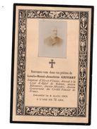 Souvenir De Décès Rennes Sénateur Grivart - Collections