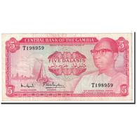 The Gambia, 5 Dalasis, 1972, KM:5d, TTB - Gambia