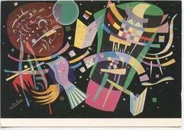 Vassily Kandinsky 1866/1944 - Composition X - 1939 (musée D'art Moderne Paris) - Peintures & Tableaux