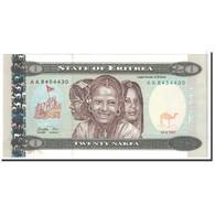 Eritrea, 20 Nakfa, 1997, 1997-05-24, KM:4, NEUF - Erythrée