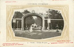 Dép 03 - Publicité - Le Petit Parisien - Le Biberon Robert - Au Planteur De Caiffa - L'Auvergne Pittoresque - Vichy - Vichy