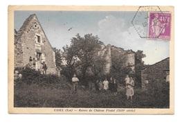 (15238-46) Ussel - Ruines Du Château Féodal - France