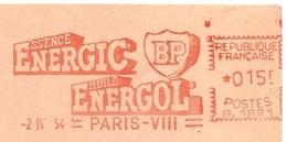 EMA HAVAS Type G De 1954 Avec Publicité Illustrée BP Essence ENERGIC Huile ENERGOL (voir Description) - Petróleo