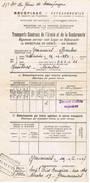 GEMMENICH Transport à Effectuer Gendarmerie - Historical Documents