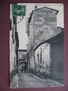 CPA 30 VERGEZE La Vieille Tour 1911 RARE & ANIMEE Canton VAUVERT - Vergèze