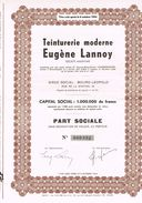 LEOPOLSDBURG Teiturerie Moderne Eugene Lannoy - Textile