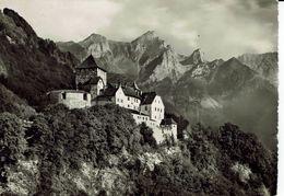 LIECHTENSTEIN-SCHLOSS VADUZ-CHATEAU-au Verso Timbre Leonardo Da Vinci - Liechtenstein