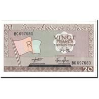 Rwanda, 20 Francs, 1976, 1976-01-01, KM:6e, NEUF - Rwanda