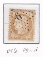 Etoile 6 P3-4 Sur 55 - Marcophilie (Timbres Détachés)