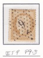 Etoile 9 P9-3 Sur 55 - Marcophilie (Timbres Détachés)
