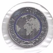 DEUTSCHLAND 5 EURO  'D'  2016 - Planet Erde - Blauer Ring - Allemagne
