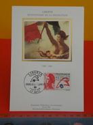 FDC >Cartes-Maximum >1980-89 - Liberté,Bicentenaire De La Révolution - 57 Metz - 4.3.1988 - 1er Jour, Coté 2,20€ - Cartes-Maximum