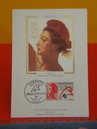 FDC >Cartes-Maximum >1980-89 - Liberté,Bicentenaire De La Révolution - Paris - 4.3.1988 - 1er Jour, Coté 2,20€ - Cartes-Maximum
