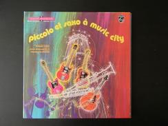 33 TOURS 25 CM LIVRE DISQUE PICCOLO ET SAXO A MUSIC CITY PHILIPS 6461025 - Children