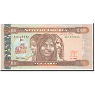 Eritrea, 10 Nakfa, 2012, 2012-05-24, KM:3, NEUF - Erythrée