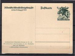 1939 Elchkopf Michel P280 Mint (r77) - Enteros Postales
