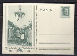 1937 Bauern Mit Erntekranz Michel P265 (r278) - Postwaardestukken