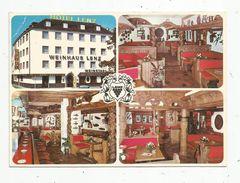 Cp , Hotels & Restaurants , HOTEL LENZ , WEINHAUS LENZ , KÖLN , Allemagne , Vierge , Multi Vues - Hotels & Restaurants