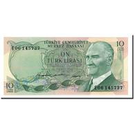 Turquie, 10 Lira, 1975, KM:186, NEUF - Turquie