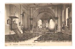 CPA Algérie BATNA Intérieur De L'Eglise - Batna