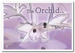 Turks & Caicos 2003, Postfris MNH, Flowers, Orchids - Turks- En Caicoseilanden