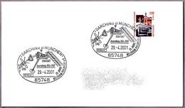 Satelite De Observacion Terrestre ENVISAT. Garching B. München 2001 - FDC & Conmemorativos