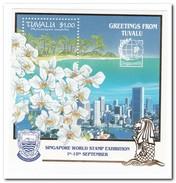 Tuvalu 1995, Postfris MNH, Flowers - Tuvalu
