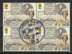 Mi 1118 Viererblock O - 1952-.... (Elizabeth II)