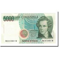 Italie, 5000 Lire, 1985, KM:111b, 1985-01-04, NEUF - [ 2] 1946-… : Républic