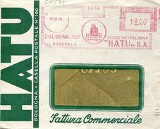 22892 Italia, Red Meter/freistempel/ema/bologna 1951 Società Hatu,condom,kondom,preservatif,preservativo,profilattico - Affrancature Meccaniche Rosse (EMA)