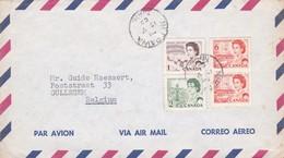 Gelopen Brief Van NEEPAWA => GULLEGEM - Briefe U. Dokumente