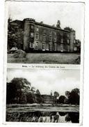 Avin - Le Château Du Comte De Looz - Circulée - Editions Pirard, Avin-en-Hesbaye - 2 Scans - Hannut